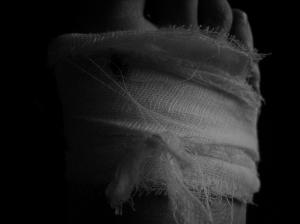 fresh wound