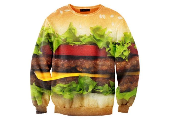 hamburger-sweater-xl