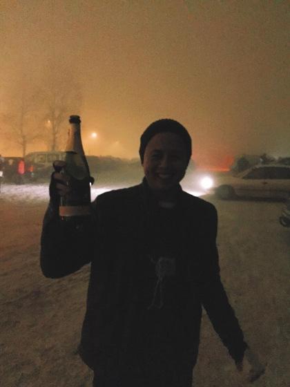 happy new year 2015 from ekebergsletta