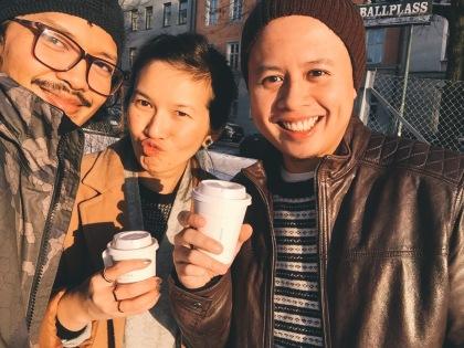 sun + coffee